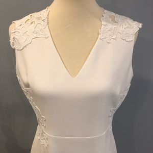 NWOT Elie Tahari lace back dress